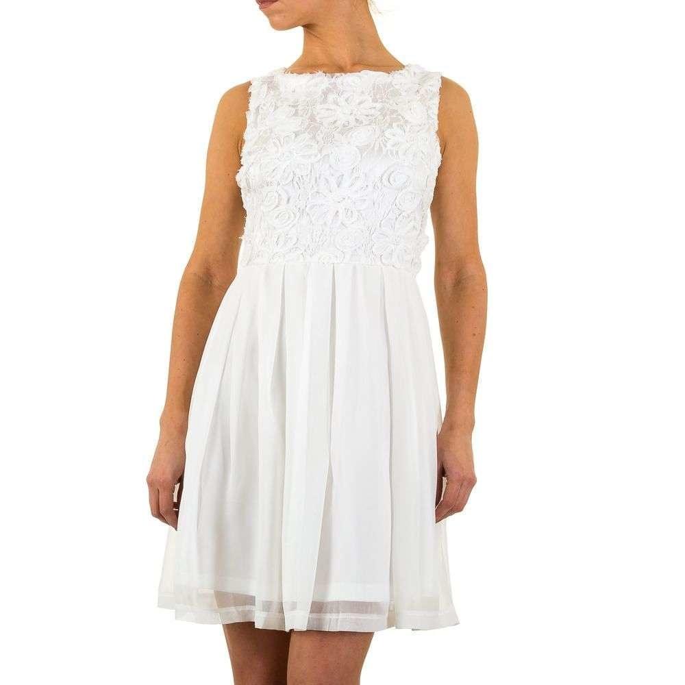 Bílé šaty EU shd-sat1014