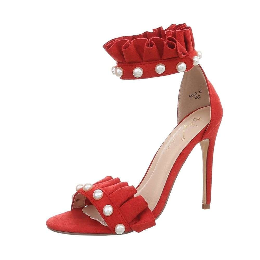 Červené sandály - 40 EU shd-osa1104re
