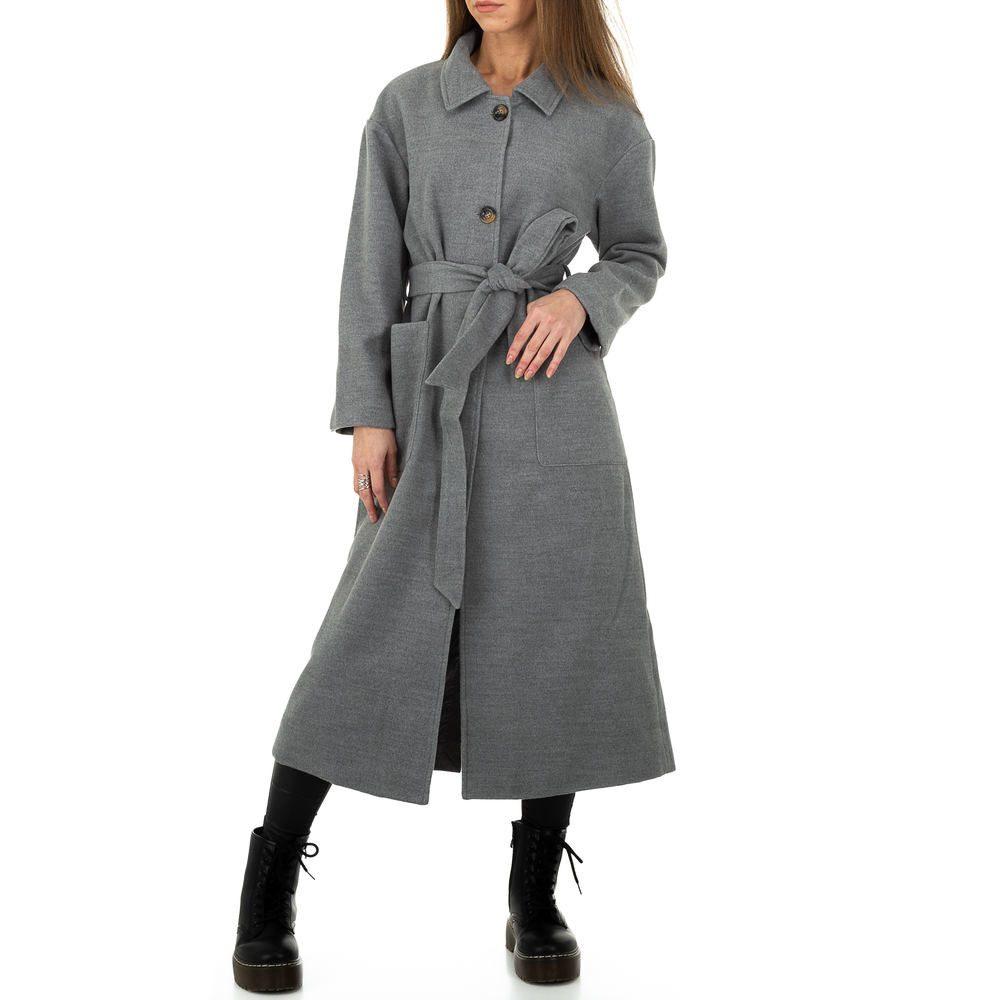 Dámský podzimní kabát - M/38 EU shd-bu1283gr