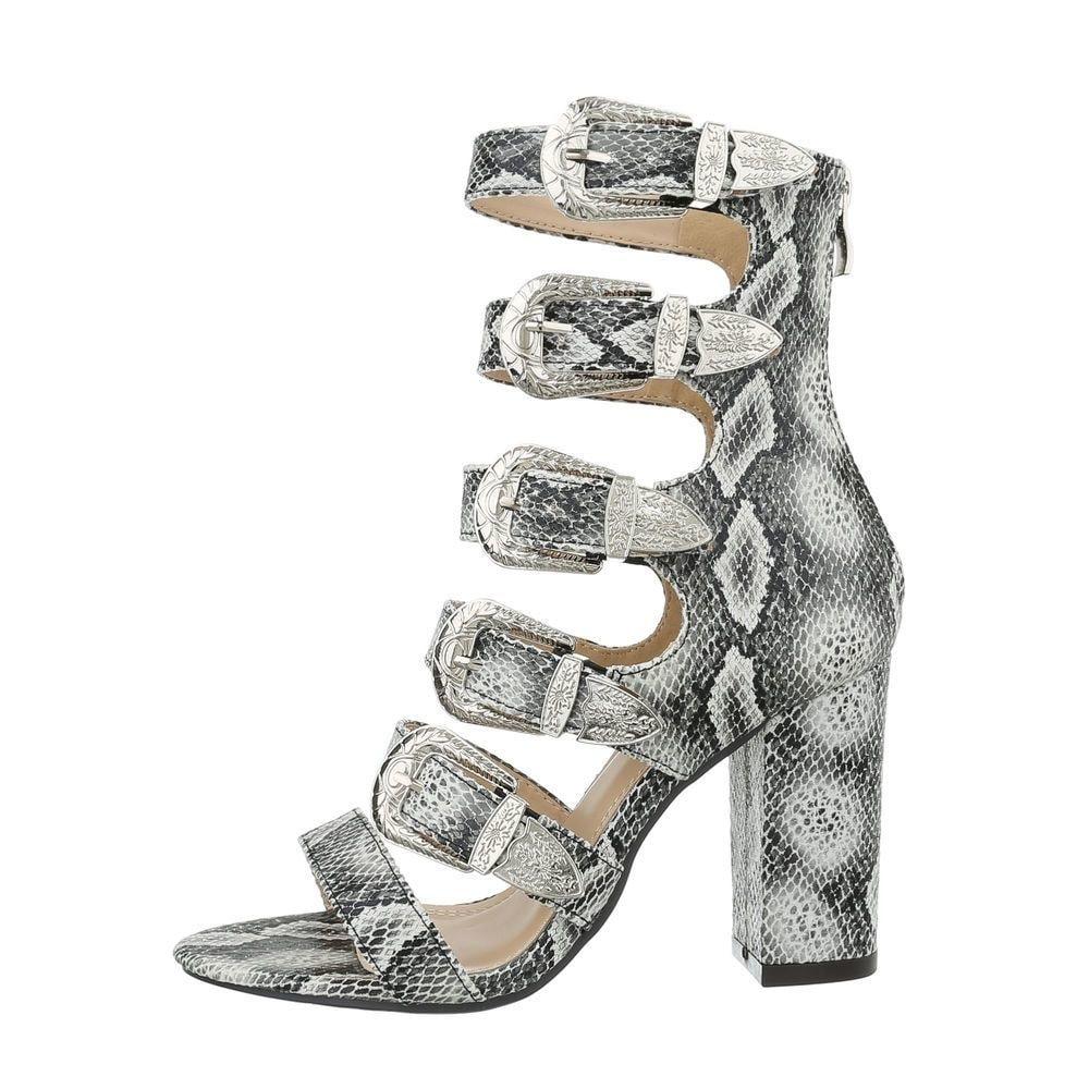 Sandály na vysokém podpatku - 38 EU shd-osa1079sn