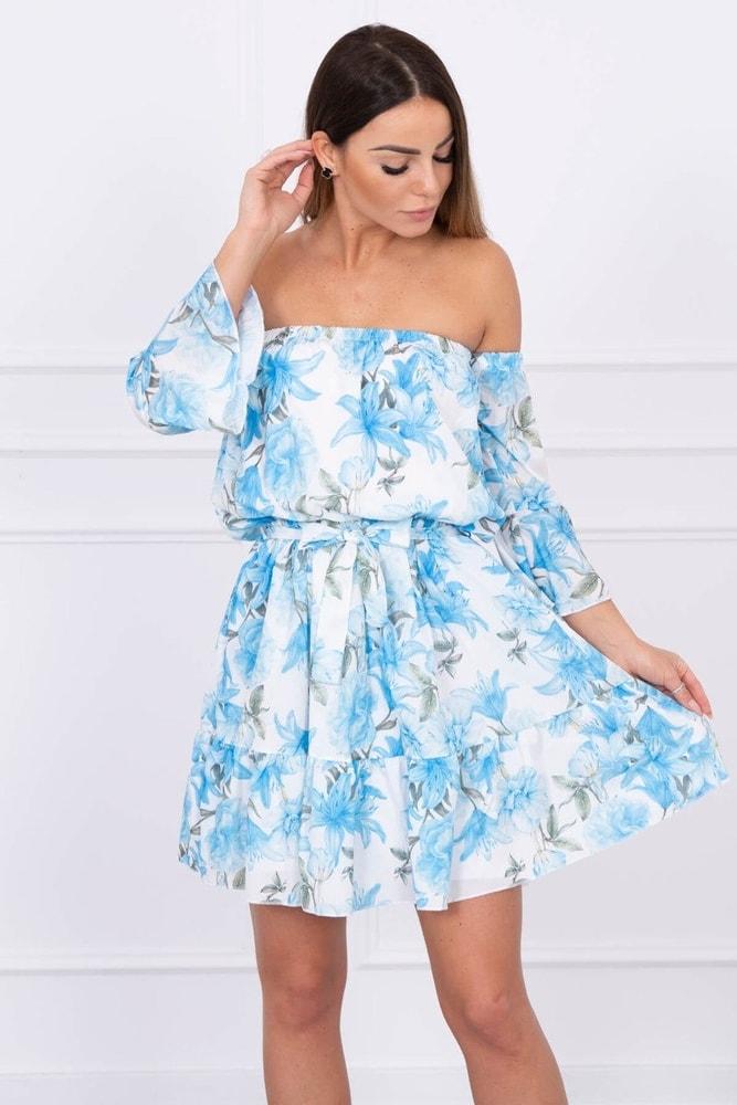 Dámske kvetované šaty - S/M Kesi ks-sa5390mo