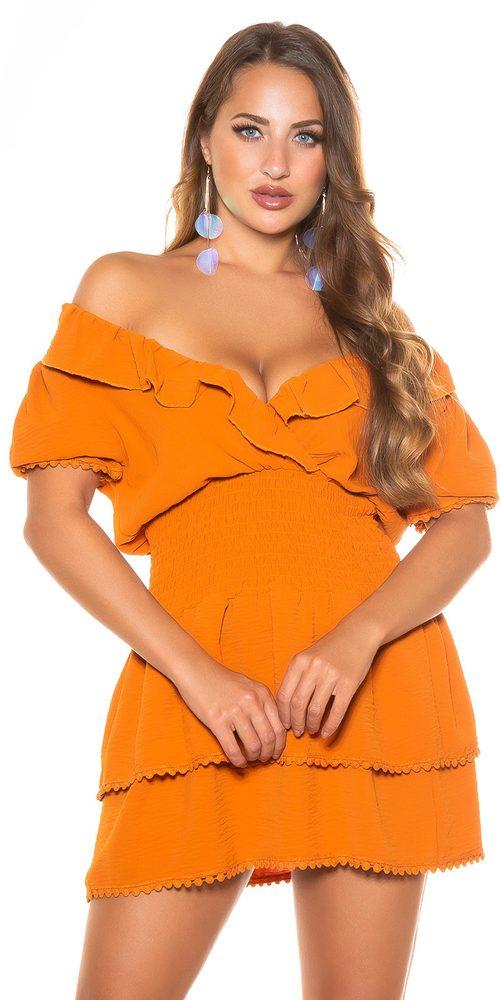 Letní dámské šaty Koucla in-sat2278br