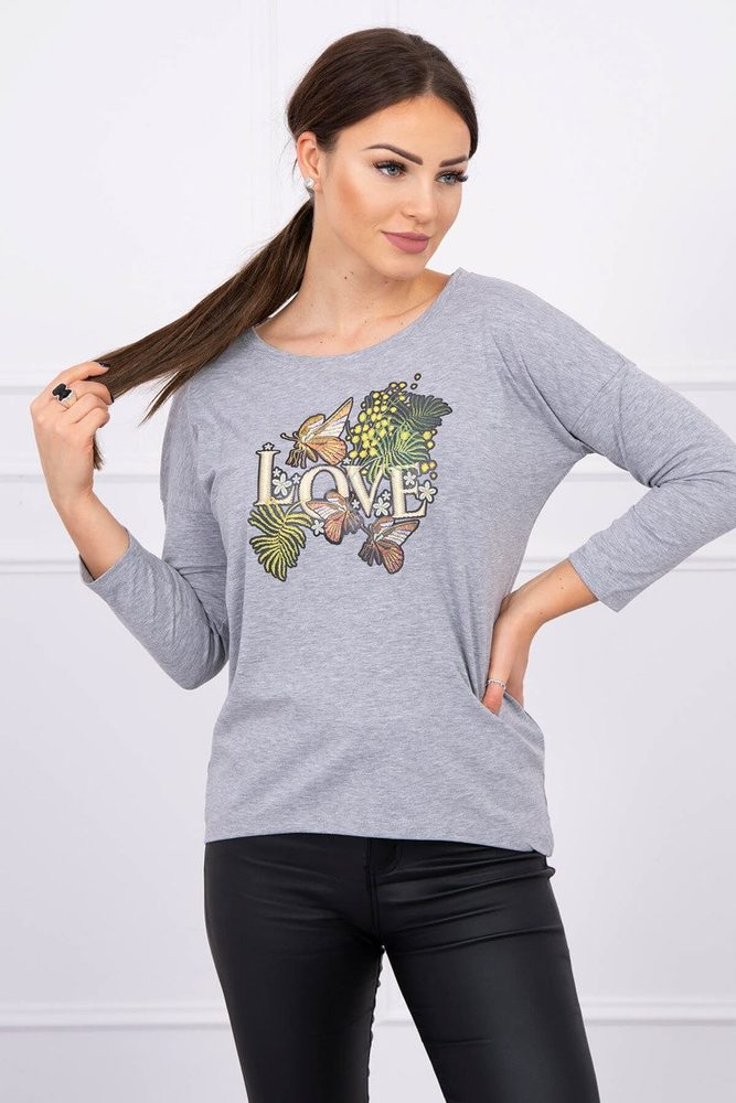 Dámské tričko - Uni Kesi ks-tr0101sg