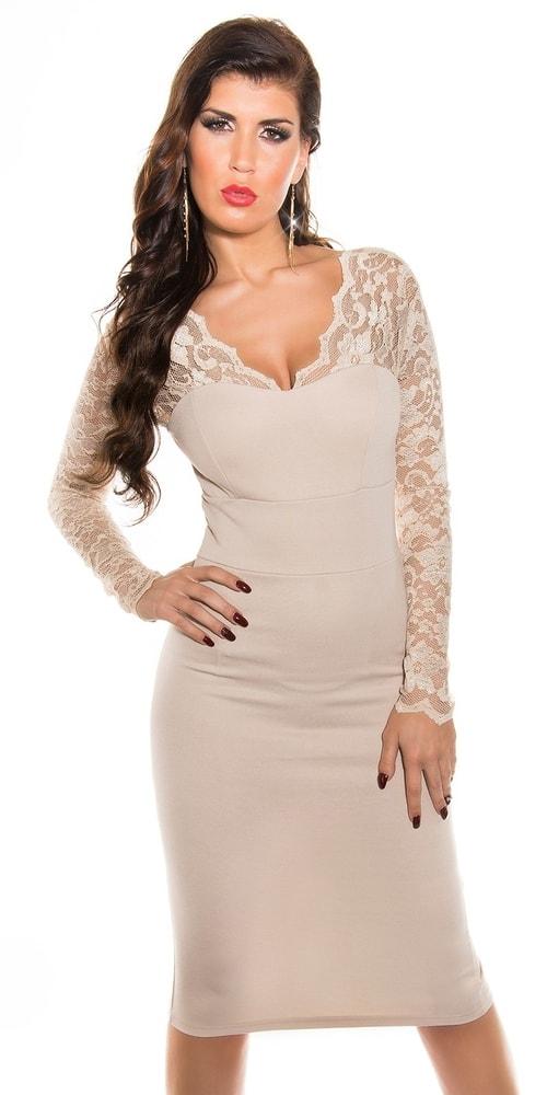 Dámske elegantné šaty - 38 Koucla in-sat1074be