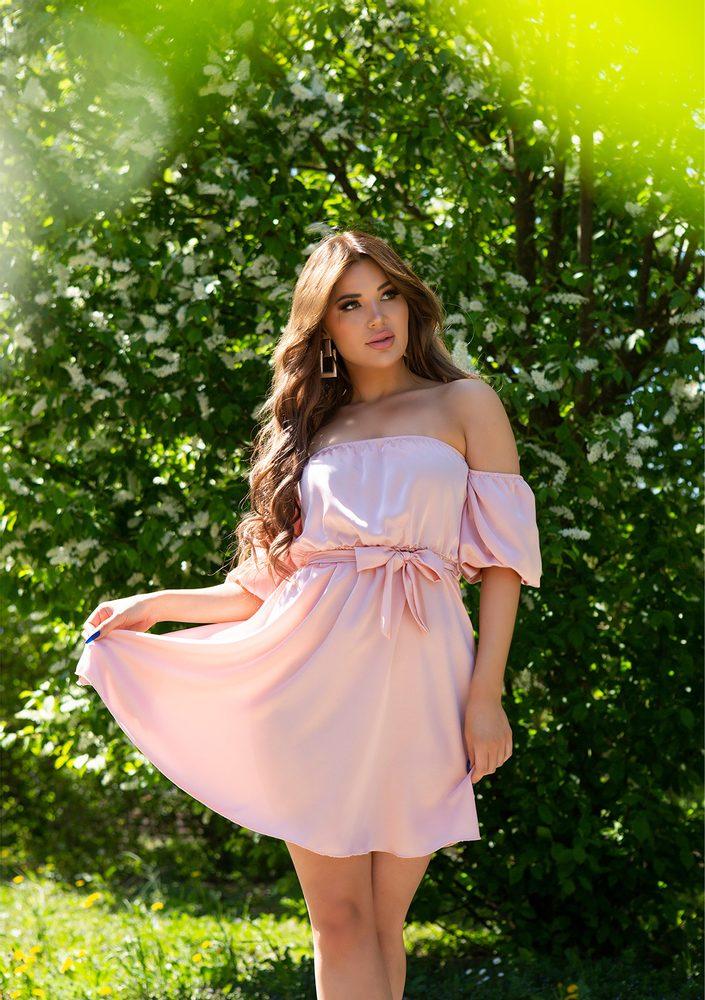 Letní mini šaty - S/M Koucla in-sat2279pi