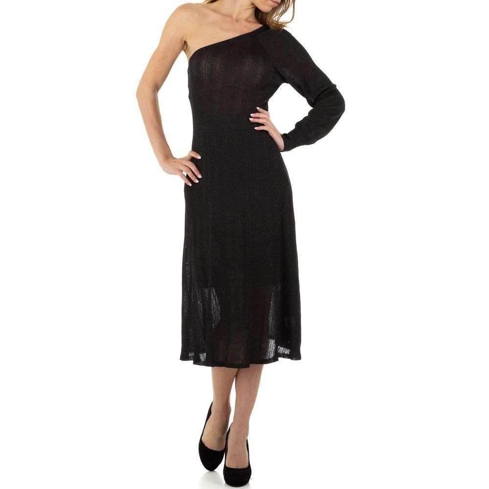 Dámske úpletové šaty EU shd-sat1137bl
