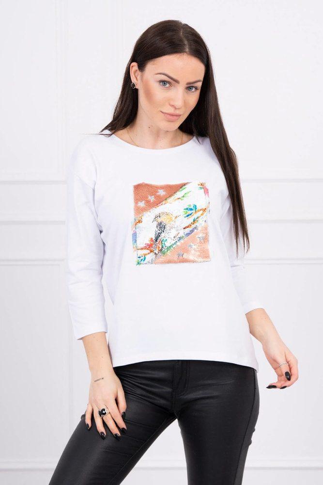 Dámské tričko - Uni Kesi ks-tr66798wh