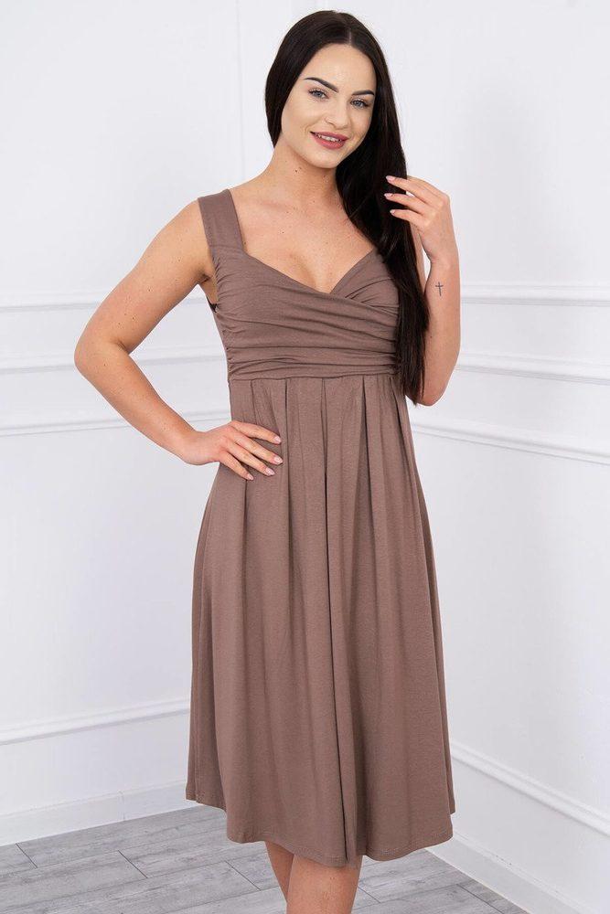Dámske elastické šaty Kesi ks-sa61063ca