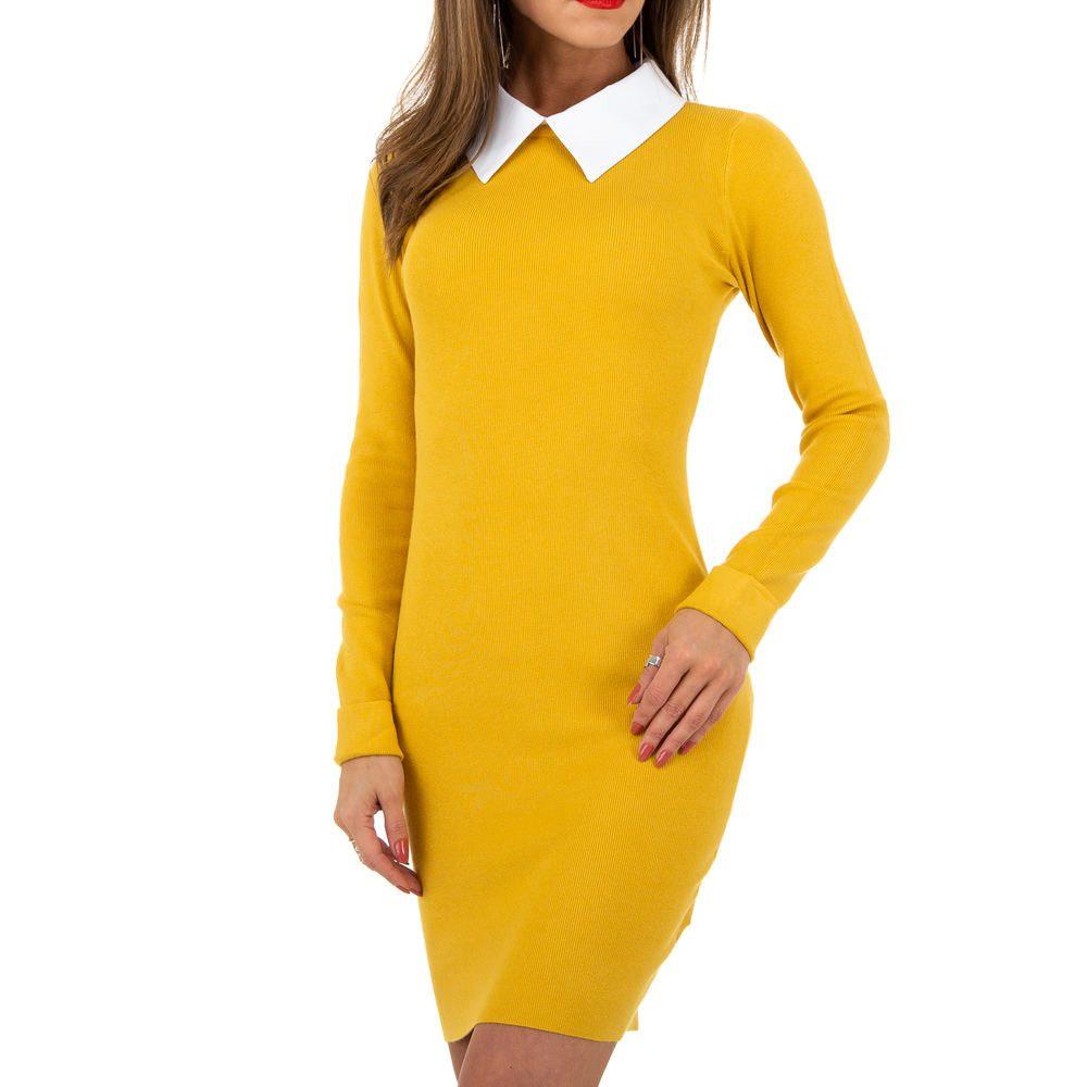 Dámské šaty z úpletu EU shd-sat1233ye