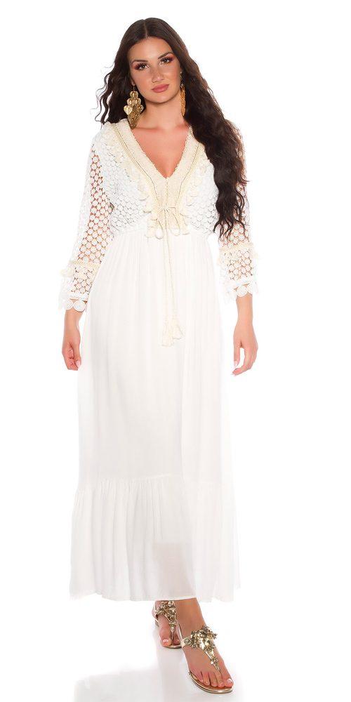 Dámské letní šaty Koucla in-sat2217wh