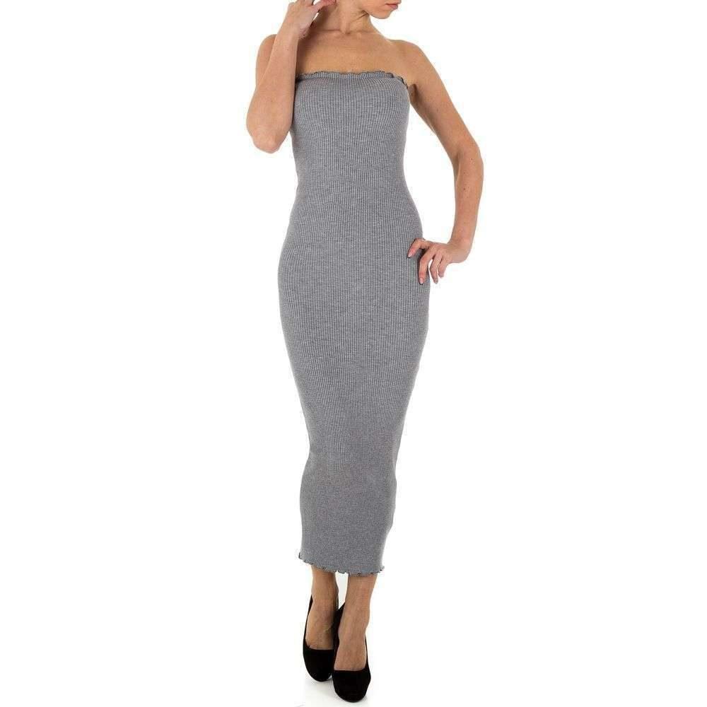 Úpletové dámské šaty EU shd-sat1230gr