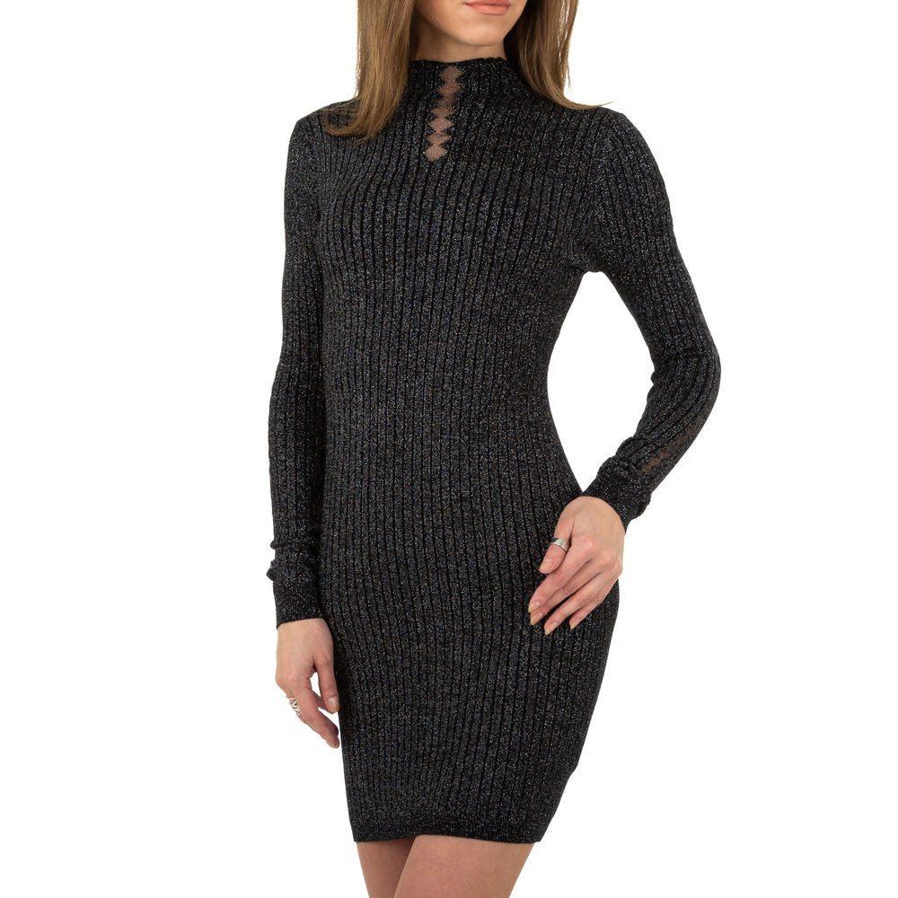 Elegantní dámské mini šaty - S/M EU shd-sat1255bl