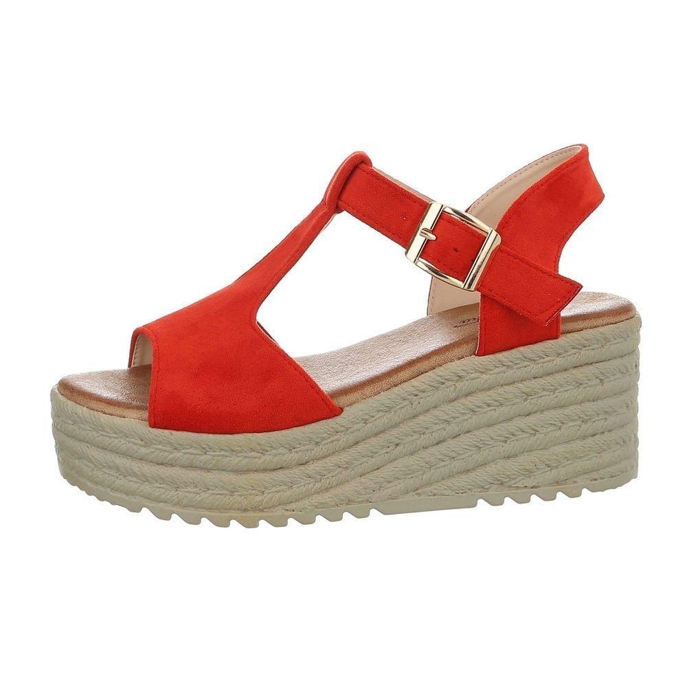 Letní sandálky červené - 40 EU shd-osa1152re