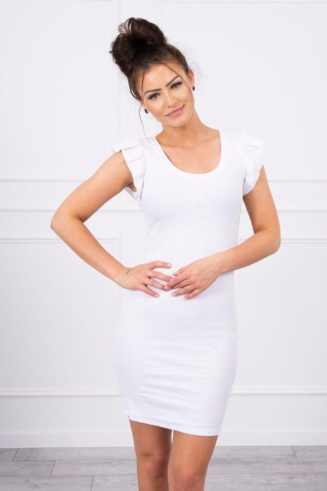 Letní bílé šaty Kesi ks-sa9098wh
