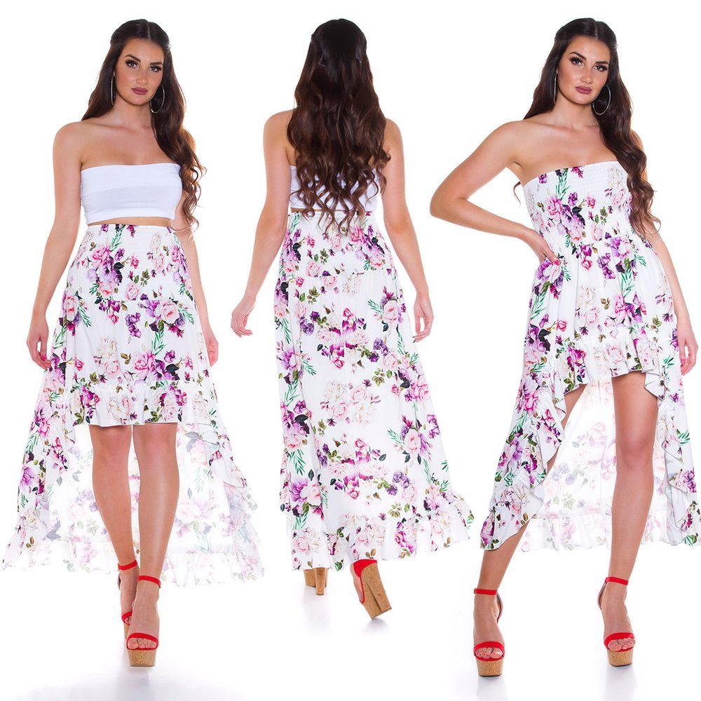 Letní mini šaty Koucla in-sat2283wh