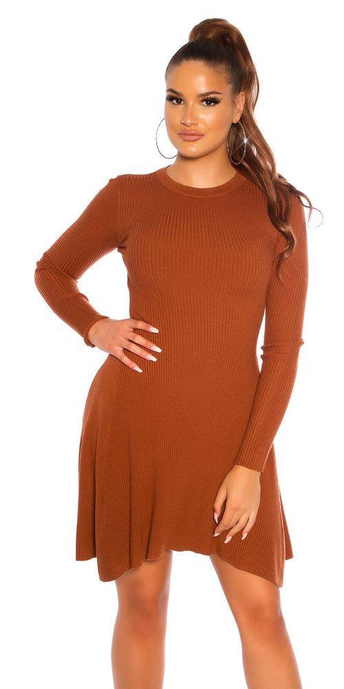 Úpletové šaty Koucla in-sat2237br