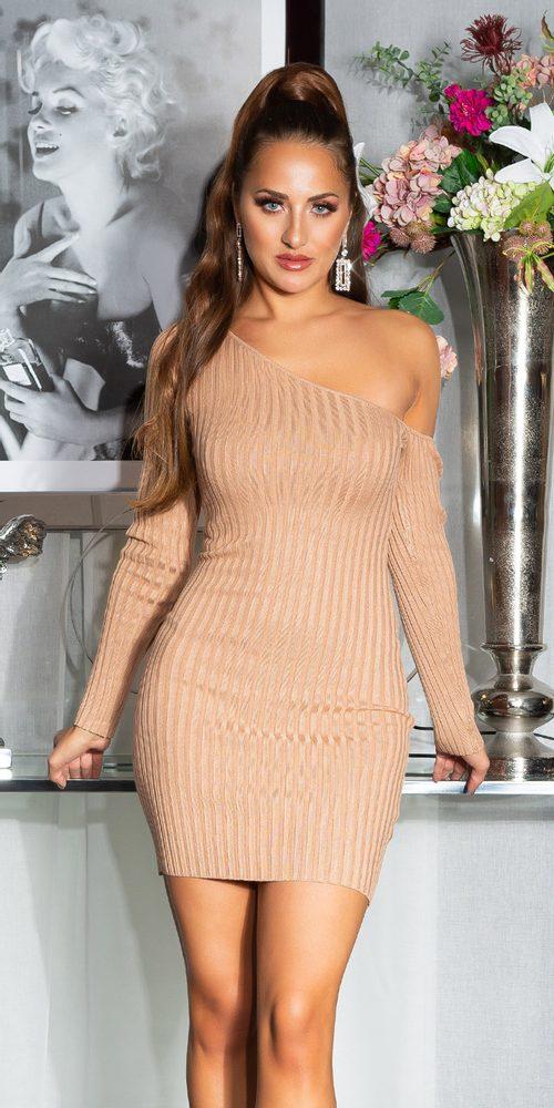 Dámské úpletové šaty - S/M Koucla in-sat2253ca