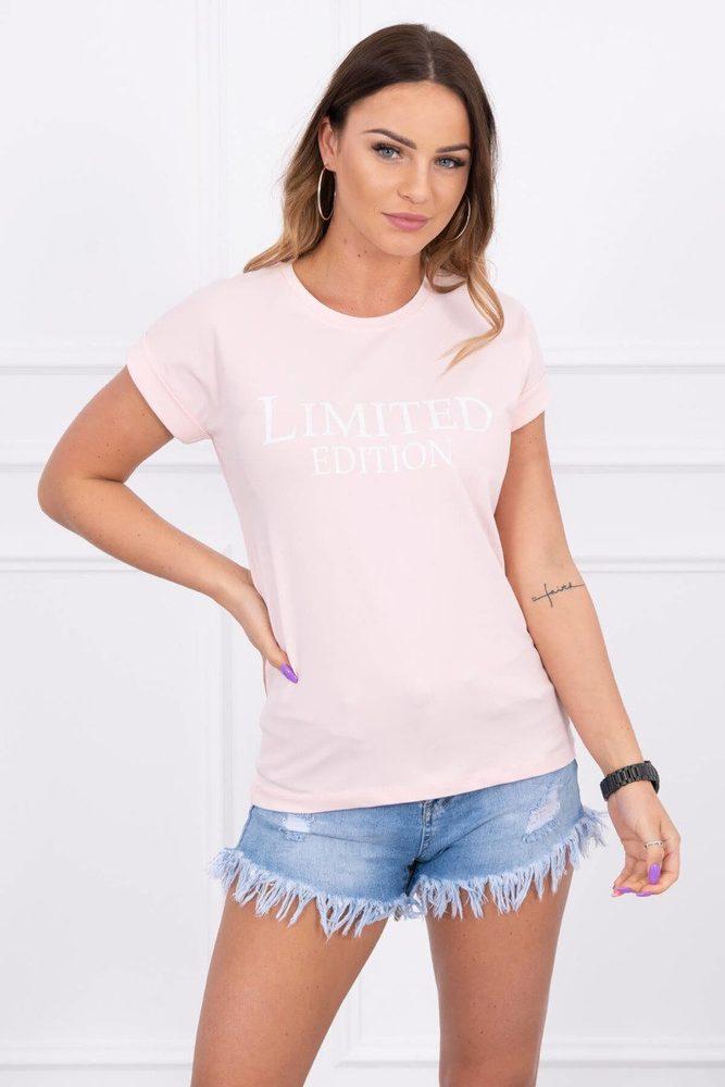 Dámské tričko s krátkými rukávy Kesi ks-tr65296spi