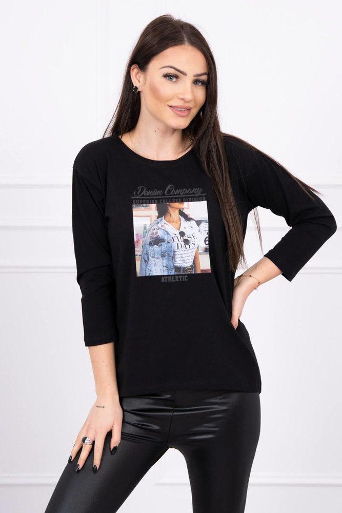 Dámské tričko - Uni Kesi ks-tr66855bl