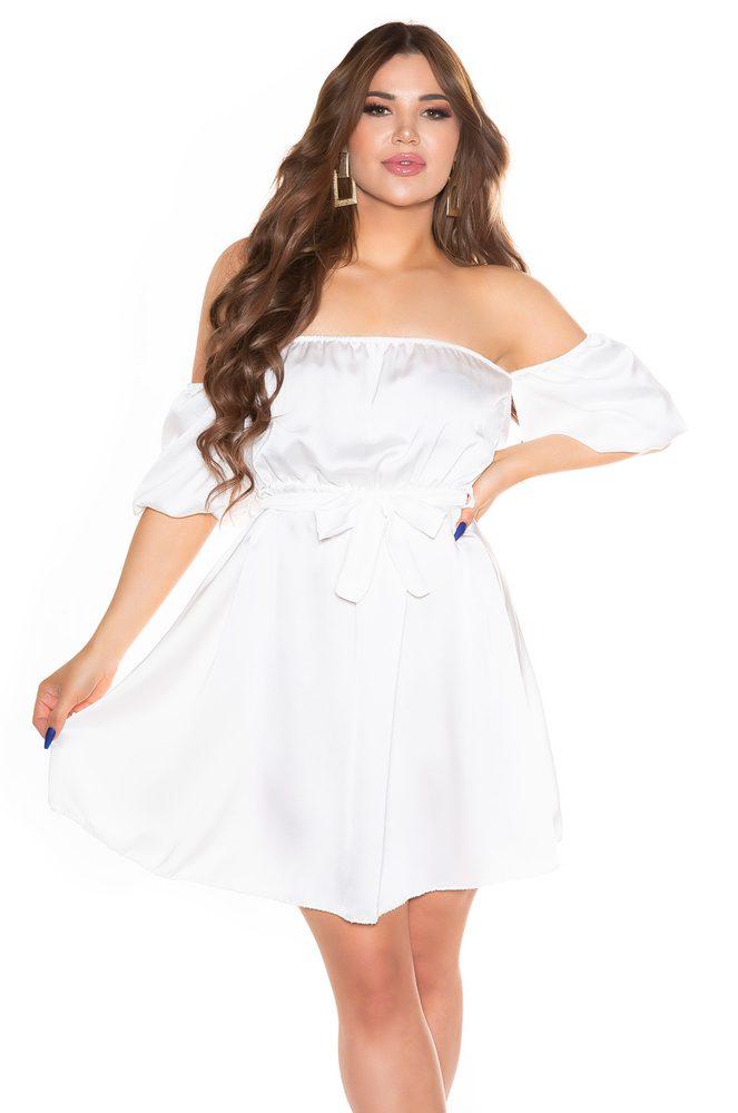 Letní mini šaty - S/M Koucla in-sat2279wh