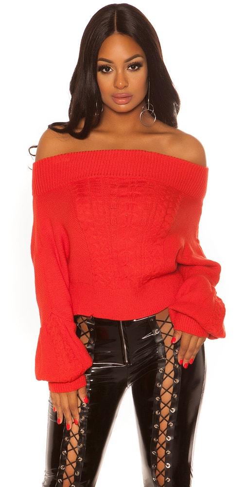 Koucla Dámský krátký svetr