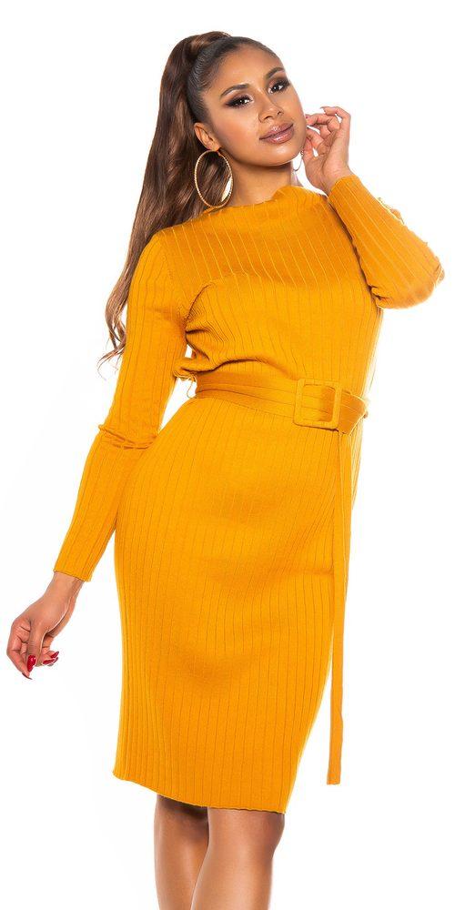 Dámské úpletové šaty Koucla in-sat2264ge