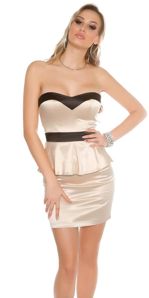 Dámske elegantné šaty - 36 Koucla in-sat1510be