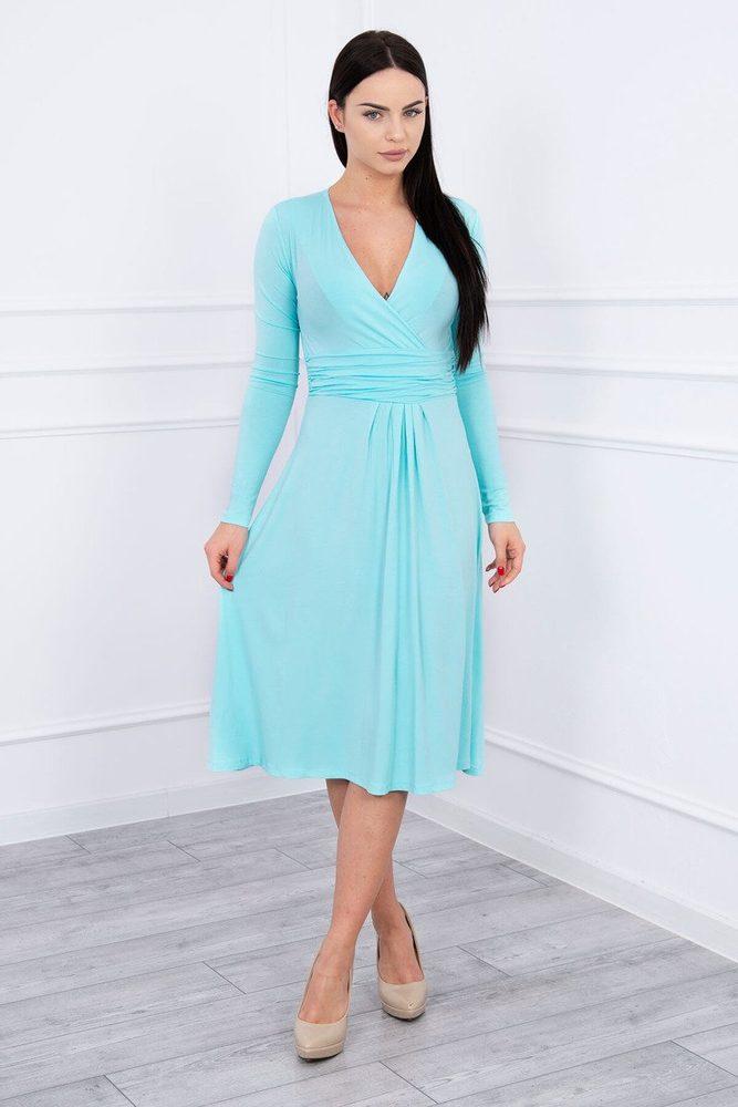Elegantné dámske šaty - L Kesi ks-sa8315mi