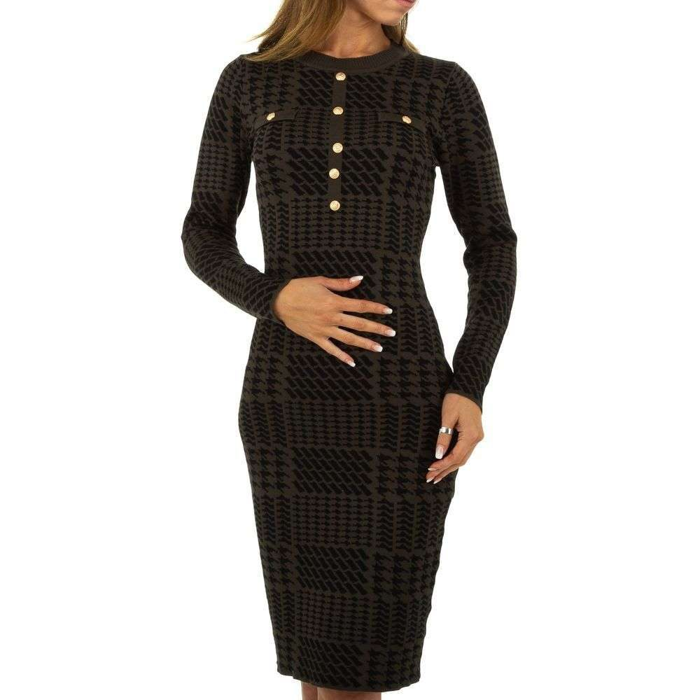 Elegantné šaty z úpletu - S/M EU shd-sat1135kh