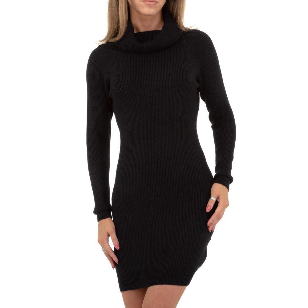 Dámské úpletové šaty EU shd-sat1235bl
