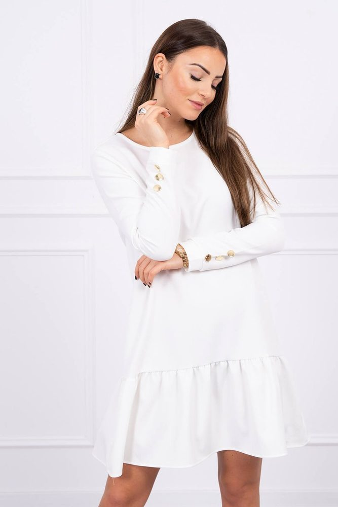 Dámské šaty s volánem Kesi ks-sa66188cr