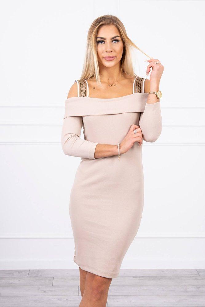 Dámské mini šaty - S/M ks-sa9241be