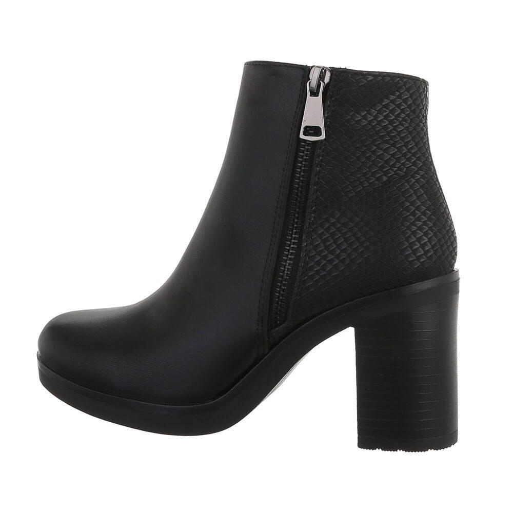 Elegantní kotníková obuv - 39 EU shd-okk1439bl