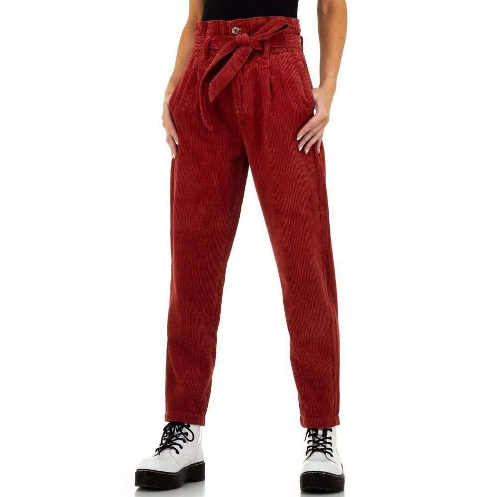 Menčestrové dámske nohavice - S/36 EU shd-ka1154re
