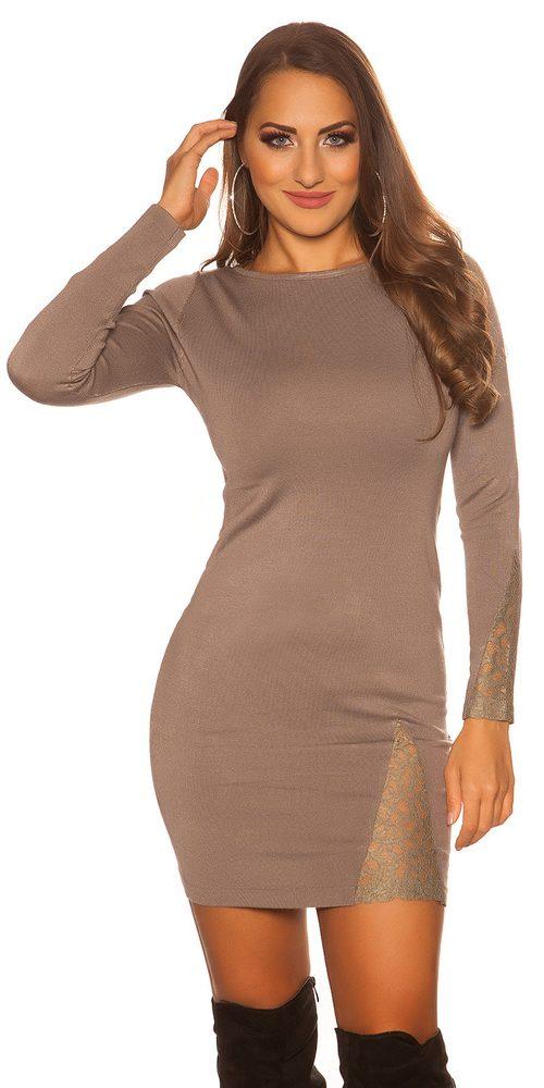 Pletené elegantné šaty Koucla in-sv1353ca