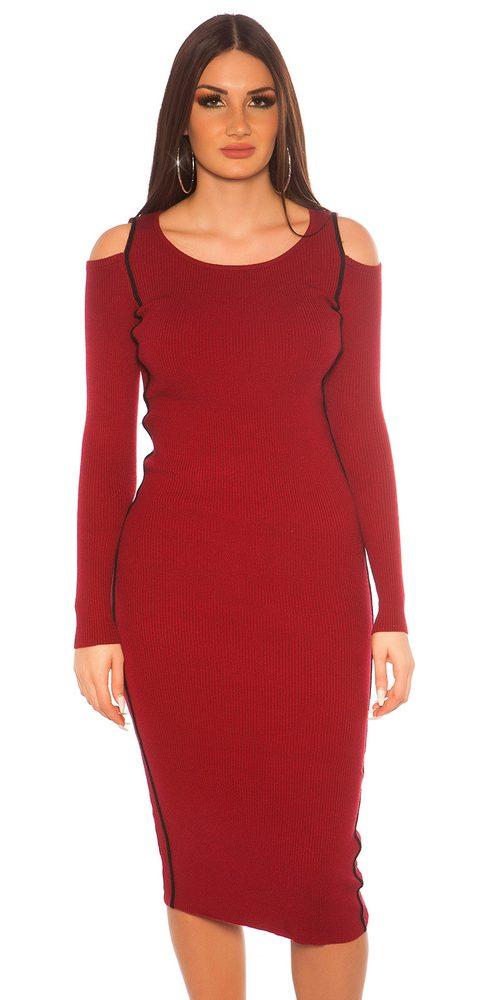 Úpletové šaty Koucla in-sat2152bo