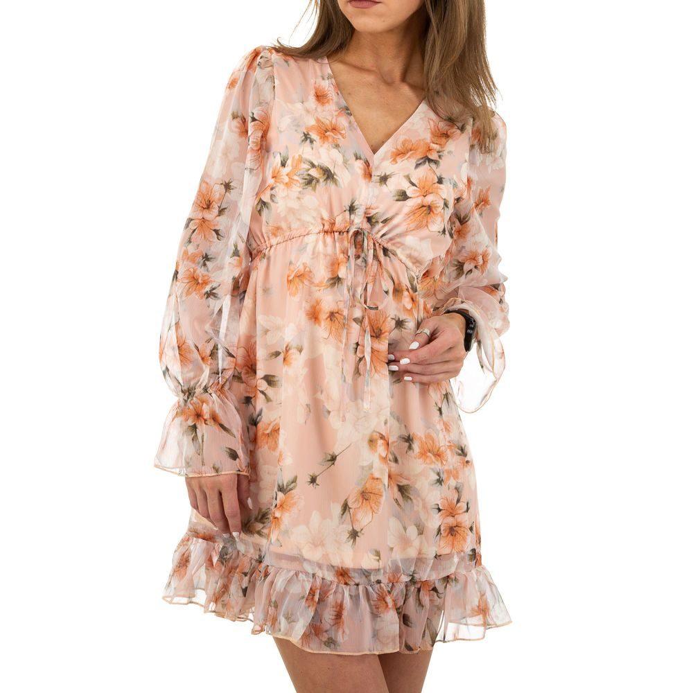 Letní květované šaty EU shd-sat1176or