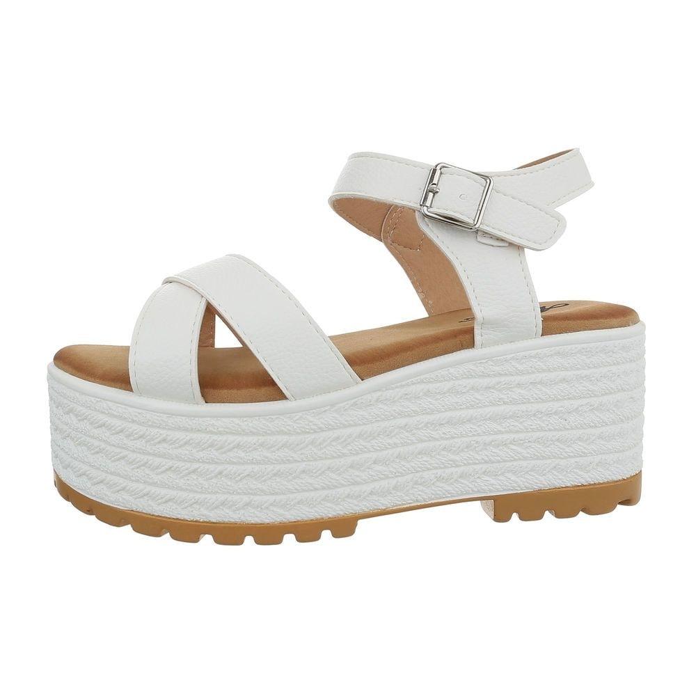 Dámske sandále na platforme - 40 EU shd-osa1334wh