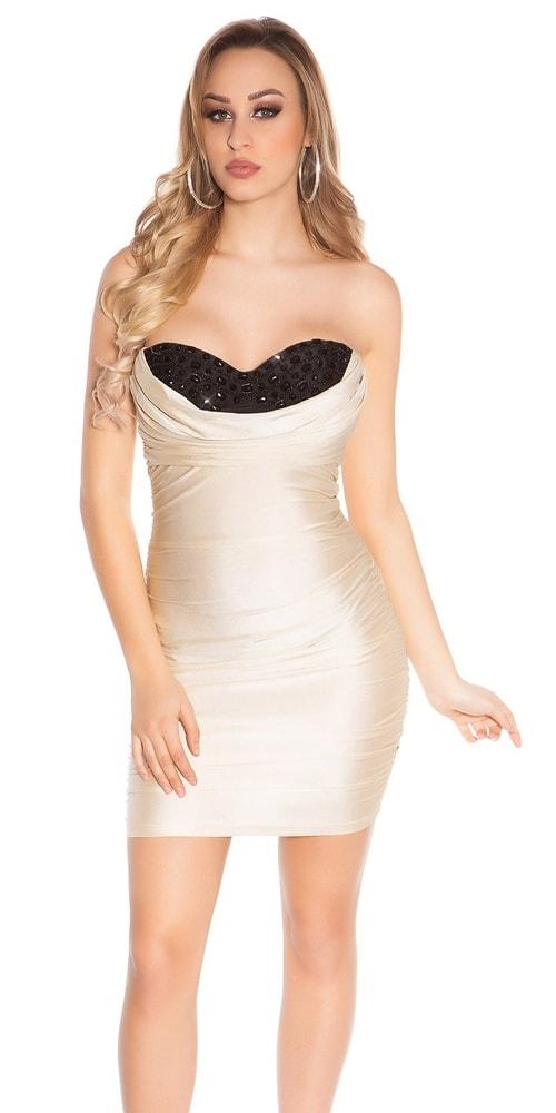 Dámske spoločenské mini šaty Koucla in-sat1875go