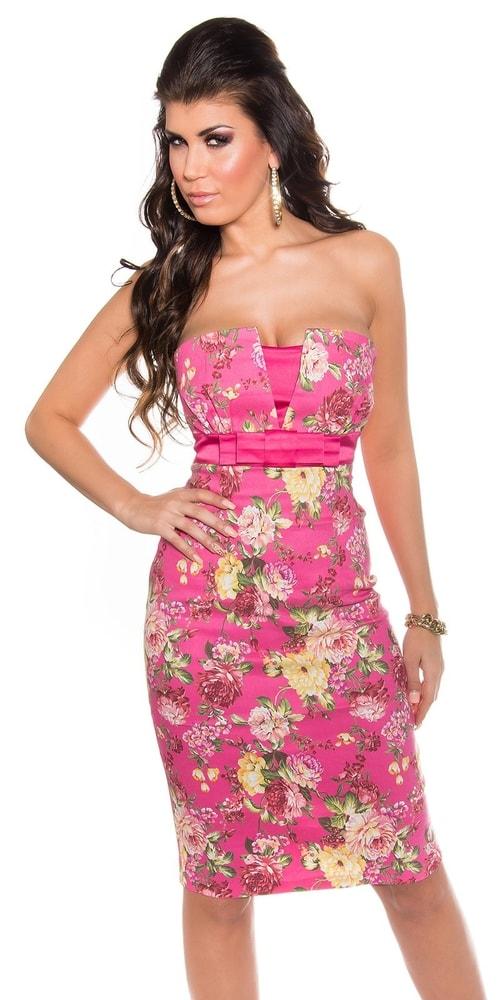 Kvetované šaty - 34 Koucla in-sat1122pi