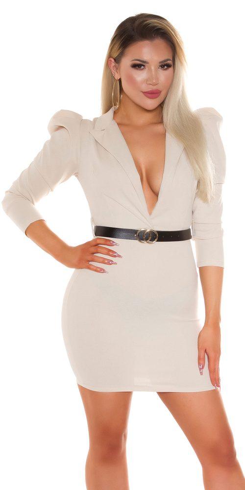 Dámské šaty s páskem Koucla in-sat2270be
