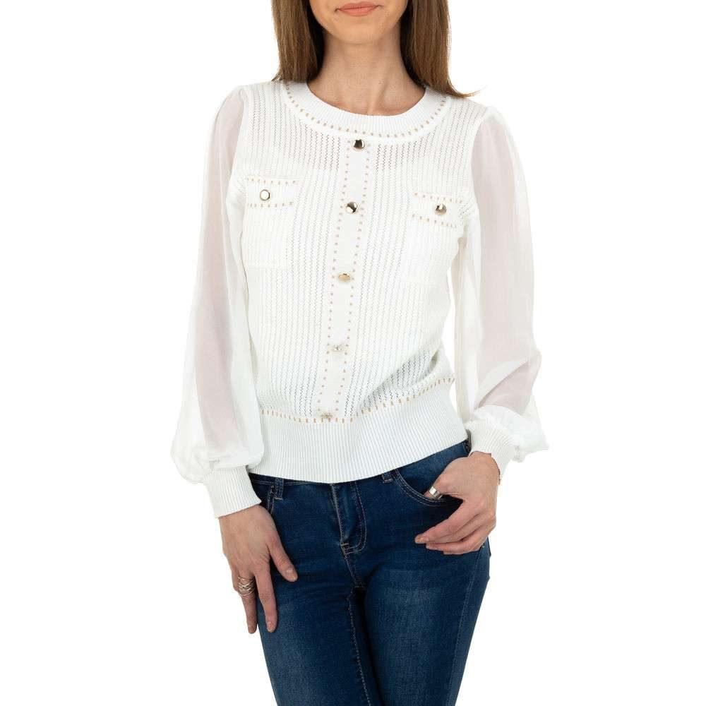 Elegantní dámský svetr - M/L EU shd-sv1239wh