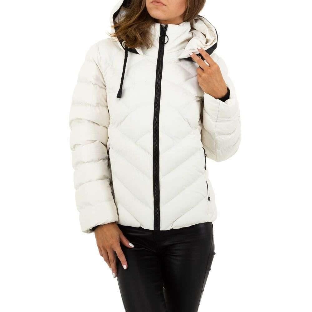 Bílá zimní bunda - L/40 EU shd-bu1218wh