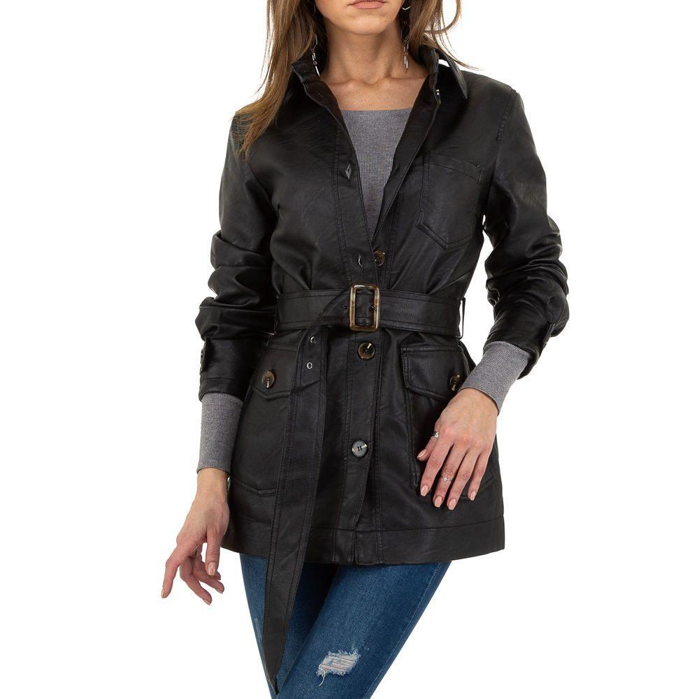 Koženková dámská bunda EU shd-bu1230bl
