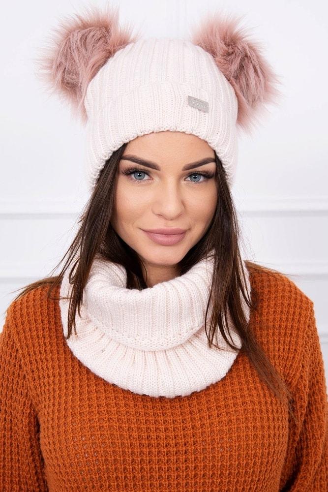 Zimná čiapka s nákrčníkom Kesi ks-koK120spi