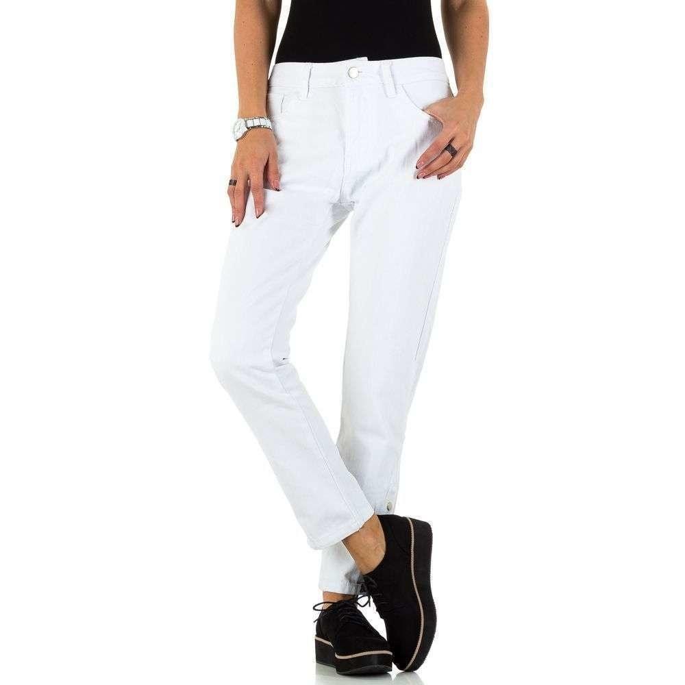 Bílé dámské džíny EU shd-ri1110
