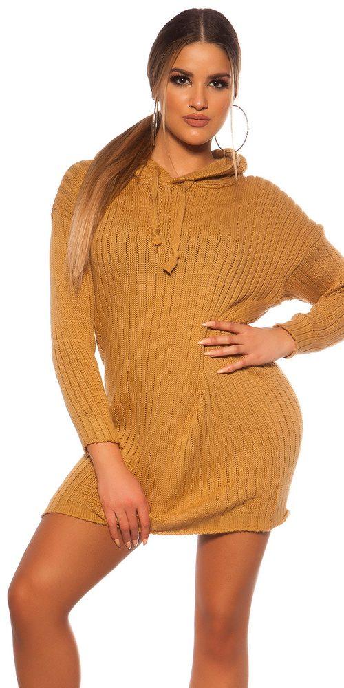 Pletené mini šaty Koucla in-sat2148be