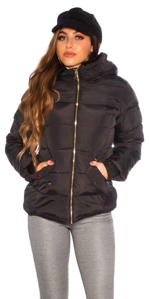 Dámská zimní bunda Koucla in-bu1193bl