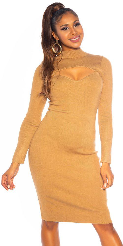 Dámské šaty z úpletu Koucla in-sat2255ca