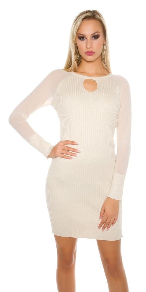 Elegantné úpletové šaty Koucla in-sat1452be